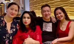 Chồng cũ Thu Phương - Huy MC cùng vợ thứ 2 hội ngộ tình bạn 35 năm với Thanh Lam và Hồng Nhung, dung mạo hiện tại mới đáng chú ý