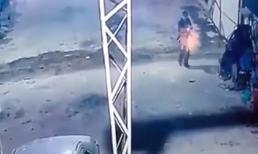 Clip giây phút hung thủ xả súng sát hại 2 người ở Lạng Sơn
