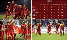 Top 5 thành tích nổi bật của bóng đá Việt Nam trong năm 2019