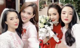 Ngọc Trinh và Huyền Lizzie tham dự lễ cưới hằng thuận của Fashionista Stella Chang