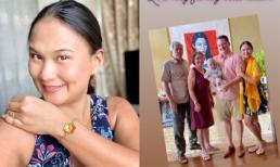 Vợ mới của chồng cũ Hồng Nhung đón sinh nhật giản dị bên người thân