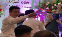 Duy Mạnh quậy cực sung sau lễ ăn hỏi khiến Quỳnh Anh cười ngặt nghẽo