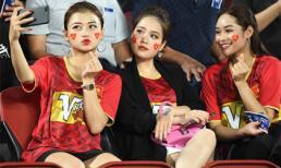 'Bạn gái tin đồn' có mặt trên khán đài cổ vũ Quang Hải và U23 Việt Nam trận gặp Triều Tiên