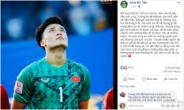 Bùi Tiến Dũng lên tiếng sau sai lầm khiến U23 Việt Nam thất bại, bị loại khỏi U23 châu Á