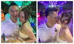 Chi Bảo 'khoá môi' người yêu say đắm trong tiệc sinh nhật