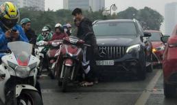 Đỗ Duy Mạnh lái siêu xe gây tai nạn trên cầu vượt Thái Hà