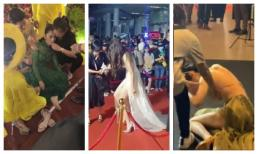 Cận tết nguyên đán, sao Việt liên tục gặp sự cố 'té-xỉu' trên thảm đỏ