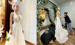 Ngân 98 đi thử váy cưới, dân mạng nghi sắp kết hôn với Lương Bằng Quang