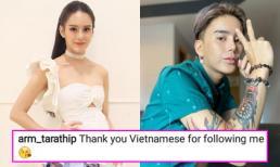 Sau màn quay lại làm đàn ông gây sốc, Hoa hậu chuyển giới Thái Lan gửi lời cảm ơn fan Việt trên Instagram