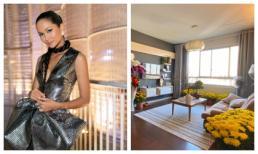 Dù chỉ là nhà thuê, Hoa hậu H'Hen Niê vẫn miệt mài trang trí không gian tổ ấm mới ngập tràn sắc hoa đón tết