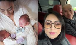 Sinh đôi ở tuổi U50, nhan sắc sau khi 'vượt cạn' của của mẹ chồng ca nương Kiều Anh vẫn khiến người khác phát hờn