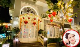 Thuý Hạnh trang trí nhà cửa lung linh đón Tết, Minh Khang khen vợ: 'Người đàn ông trụ cột của mình'