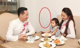 Là người cầu toàn, kỹ tính nhưng ông xã Phan Như Thảo lại để lọt nét vẽ nguệch ngoạc trên tường