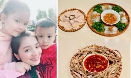 Ở đất Mỹ, Diệu Hương khoe bữa ăn Tất niên vào dịp Tết nguyên đán