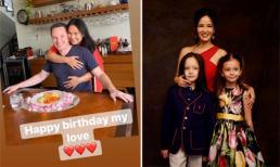 Hồng Nhung gọi hai con là 'mùa xuân của mẹ', chồng cũ đón sinh nhật bên vợ mới