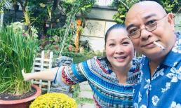 Đăng ảnh tình tứ bên tài tử Lê Tuấn Anh, NSND Hồng Vân tiết lộ mong ước giản dị của chồng