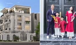 Ngày Tết, vợ chồng Đăng Khôi khoe không gian xa hoa, sang trọng chẳng khác gì khách sạn 5 sao trong căn biệt thự 46 tỷ mới tậu
