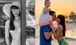 Hà Anh đăng ảnh ngực trần, chia sẻ về chuyện ghen trong cuộc sống vợ chồng