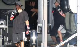 Giãn cách xã hội, Angelina Jolie thuê huấn luyện viên riêng hướng dẫn boxing cho Pax Thiên tại nhà