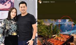 Linh Rin khoá tài khoản Instagram, Phillip Nguyễn khoe ảnh ăn tối cùng một cô gái