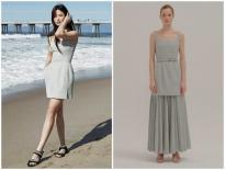 Cùng một chiếc váy, Song Hye Kyo được netizen khen tới tấp vì quá sexy, mẫu hãng bị ví như 'cái nơm'