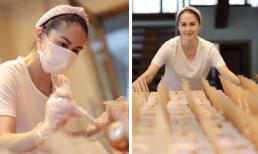 Không chịu ngồi yên giữa mùa dịch, Marian Rivera lại nấu hàng trăm suất mì ủng hộ tiền tuyến