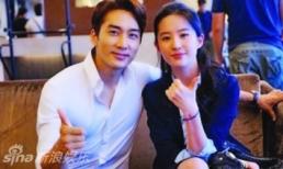 Sau hơn 2 năm chia tay, Song Seung Hun bất ngờ bấm like ảnh selfie của Lưu Diệc Phi