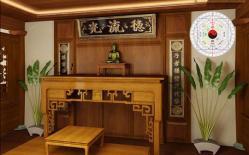 Thiết kế bàn thờ hợp phong thủy cho người mệnh Thủy