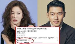 Sau gần 10 năm chia tay, Song Hye Kyo và Hyun Bin bất ngờ trở về bên nhau, chứng cứ lộ rõ rành rành?