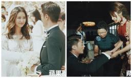 Sau 4 năm, khoảnh khắc hiếm trong lễ cưới của Lâm Tâm Như mới được chia sẻ, cô dâu năm nào tiết lộ mối quan hệ với nhà chồng