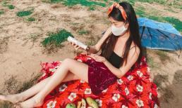 Ở khu cách ly mà cứ ngỡ resort nghỉ dưỡng: Bà xã Đăng Khôi tự stylist, đầu tư sống ảo từ phòng ra bãi cát