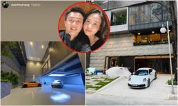 Đàm Thu Trang hé lộ một góc bên trong biệt thự, gara siêu xe chưa hoàn thiện cũng đã hết sức hoành tráng