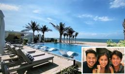 Phillip Nguyễn hé lộ góc villa sang chảnh ở Vũng Tàu khi đến mừng sinh nhật em gái