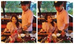 Trường Giang chiều Nhã Phương như công chúa, phục vụ khi không cho đụng tay vào đũa suốt bữa ăn