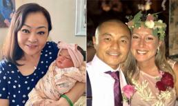 Danh ca Hương Lan lên chức bà nội, khoe cháu gái lai Tây cực xinh xắn