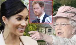 Chỉ trong một ngày, Meghan Markle vừa thách thức lệnh cấm của Nữ hoàng Anh lại dùng con trai để đe dọa Harry