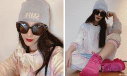 Bóc giá set đồ cực ngầu giúp Phạm Băng Băng ghi điểm trong loạt hình selfie mới