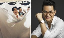 Biểu cảm cực dễ thương của Hà Anh Tuấn khi ở phòng thay đồ nhưng vẫn muốn giao lưu với fan
