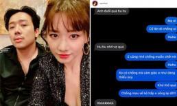 Đoạn tin nhắn lúc nửa đêm tiết lộ tình cảm của Trấn Thành - Hari Won dành cho nhau sau 4 năm cưới