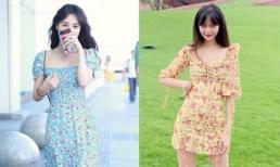 Mặc váy hoa, đi giày kiểu nào là phù hợp và thời trang nhất trong mùa hè?