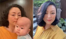 Mẹ chồng ca nương Kiều Anh được khen trẻ như thiếu nữ khi cắt tóc, nhuộm highlight