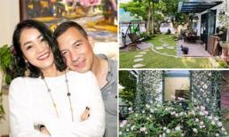 Khu vườn ngập tràn sắc hoa của cựu thành viên nhóm nhạc 'Con gái' - Xuân Nhị