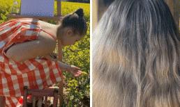 Sắp lên 9 tuổi, tiểu thư nhà David Beckham chơi lớn nhuộm tóc ombre