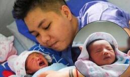 Hình ảnh hiếm hoi về em bé của 'người đàn ông Việt Nam đầu tiên mang bầu'
