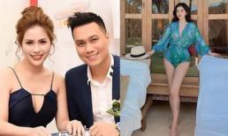 Vợ cũ Việt Anh tiếp tục hack dáng với áo tắm liền mảnh, đúng chuẩn 'gái một con trông mòn con mắt'