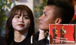 Bạn gái mới chúc mừng Quang Hải giành Quả bóng bạc Việt Nam