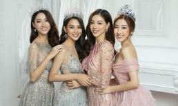 Tiểu Vy, Đỗ Mỹ Linh, Lương Thuỳ Linh 'đọ' vương miện trong bộ ảnh mới