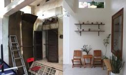 Được bố mẹ cho nhà 'bỏ hoang' 10 năm, đôi vợ chồng trẻ tân trang thành quán cà phê nhỏ xinh