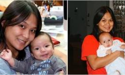 Hiếm hoi lắm mới thấy vợ của chồng cũ Hồng Nhung khoe ảnh quá khứ bên con riêng