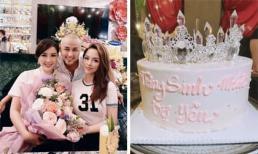 Bảo Thy đón sinh nhật vui vẻ, được chồng cưng như công chúa